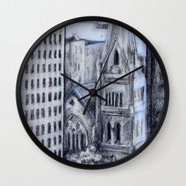 Church in Center City, Philadelphia Wall Clock