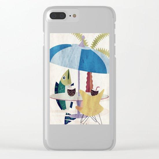 Fischzeit Clear iPhone Case