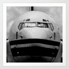 Come fly with me... Art Print
