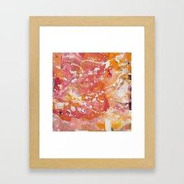 Florida Sunset (Bright Orange & Hot Pink) [Crystal Hoffman] Framed Art Print