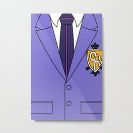 Ouran High School Host Club Uniform Metal Print
