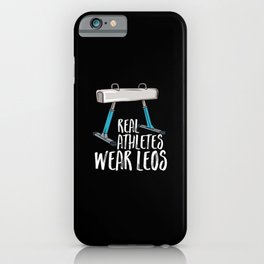 Real Athletes Wear Leos iPhone Case