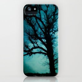black tree iPhone Case