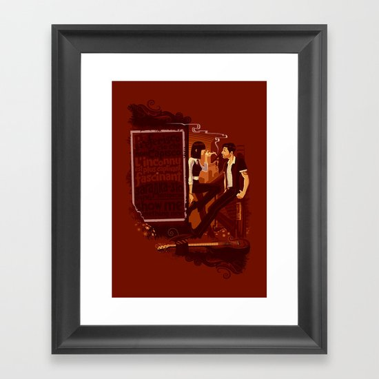 Ignorance is Bliss Framed Art Print