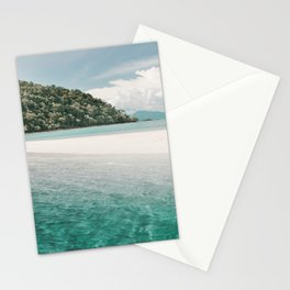 White beach and turquoise sea, Mu Ko Chang National Park in Thailand Stationery Cards