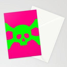 Toxic Skull Stationery Cards