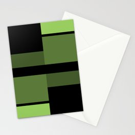 An abstract geometric pattern . Alex 2 Stationery Cards