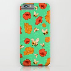 Poppies & Bees Slim Case iPhone 6s