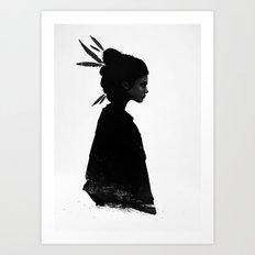 Never Never Art Print