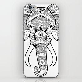 Serious Elephant iPhone Skin