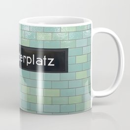 Berlin U-Bahn Memories - Alexanderplatz Coffee Mug