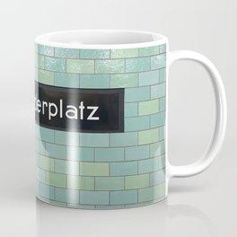 Berlin U-Bahn Memories - Alexanderplatz Coffee Mug