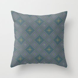 Moroccan Night Throw Pillow