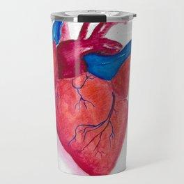 Beating heart Travel Mug