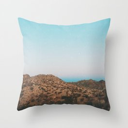 California Dreaming Throw Pillow