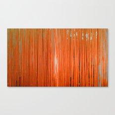 ORANGE STRINGS Canvas Print