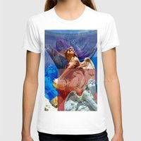 religious T-shirts featuring Religious Hymns of Angels by CAPTAINSILVA