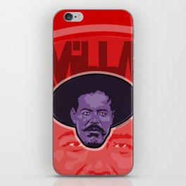 Villa -La Raza 1910 iPhone Skin