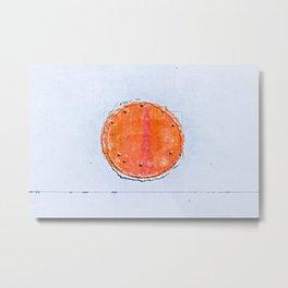 Red Circle Metal Print