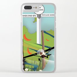 john o'groats Limited Edition version 2 Clear iPhone Case