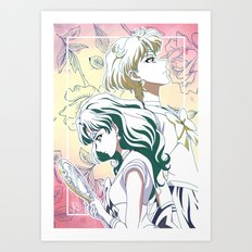 Eternal Eternity Watercolor Art Print