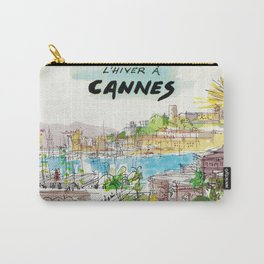 Winter In Cannes Carry-All Pouch