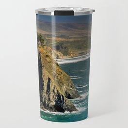 Ragged Point, Cabrillo Hwy, California Coastline Travel Mug
