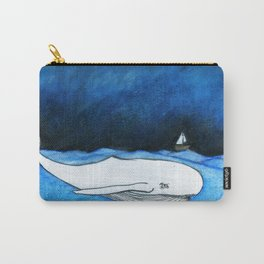 Seastorm over the whale Carry-All Pouch