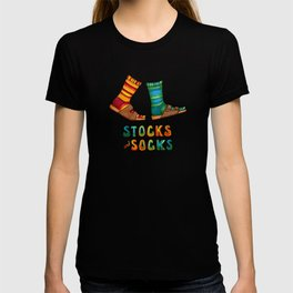Stocks And Socks with Groovy Lettering T-shirt