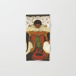 """""""Flower Festival"""" by Diego Rivera Hand & Bath Towel"""