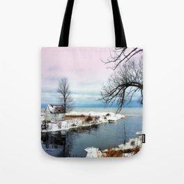 Ice Beach Tote Bag