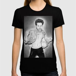 Jared Leto (30 Seconds To Mars) Portrait. T-shirt
