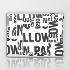 TYPE COLLAGE Laptop & iPad Skin