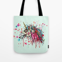 Zombie Unicorn Tote Bag