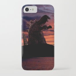 Godzilla iPhone Case