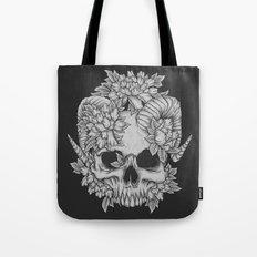 Japanese Skull Tote Bag