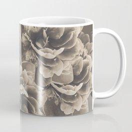 Sepia Peony Flower Bouquet #1 #floral #decor #art #society6 Coffee Mug