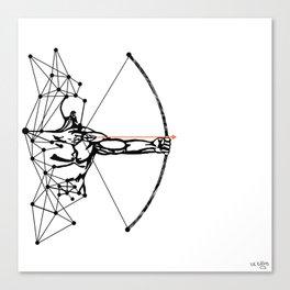 the Archer Canvas Print