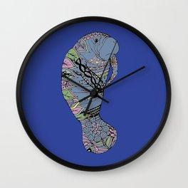 Mary Manatee Wall Clock