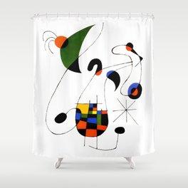Joan Miro Shower Curtain