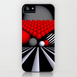 opart iterations iPhone Case