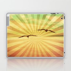 Fly With Me - vintage style Laptop & iPad Skin