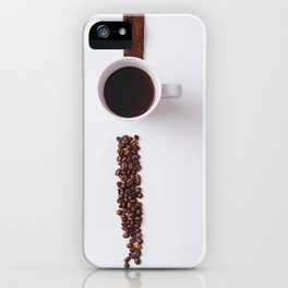 COFFEE - BEANS - CUP - PHOTOGRAPHY iPhone Case