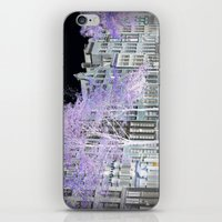 amsterdam iPhone & iPod Skins featuring Amsterdam by DuniStudioDesign
