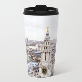 City View over London from St. Paul's Cathedral Travel Mug