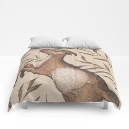 The Goat and Willow Comforters