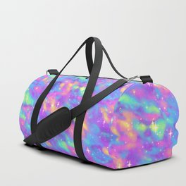 Pastel Galaxy Duffle Bag