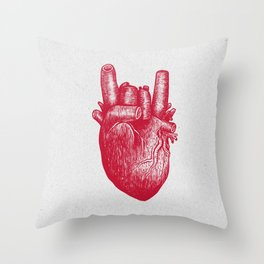 Party heart Throw Pillow