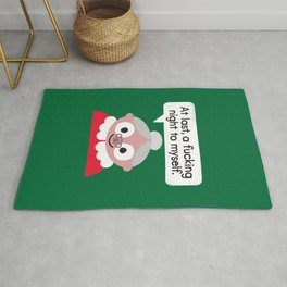 The Claus Come Out Rug