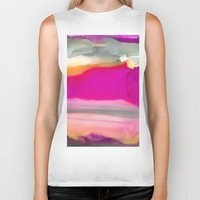 agate Biker Tanks featuring Crazy Agate by Amie Amyotte